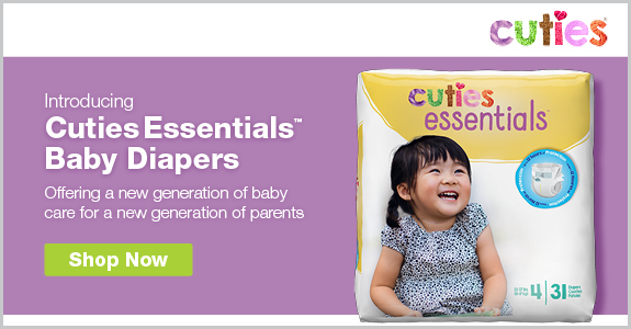 Cuties Essentials Baby Diapers